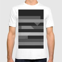 New Mens Fitted Tee White SMALL