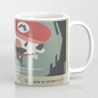 mario bros 4 fan art Mug