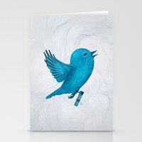 The Original Twitter - P… Stationery Cards