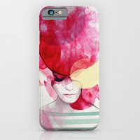 paint iPhone & iPod Cases featuring Bright Pink - Part 2  by Jenny Liz Rome