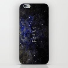 stars cant shine without darkness iPhone & iPod Skin
