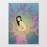 Life Crystal Canvas Print