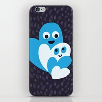 Happy Hearts Family iPhone & iPod Skin