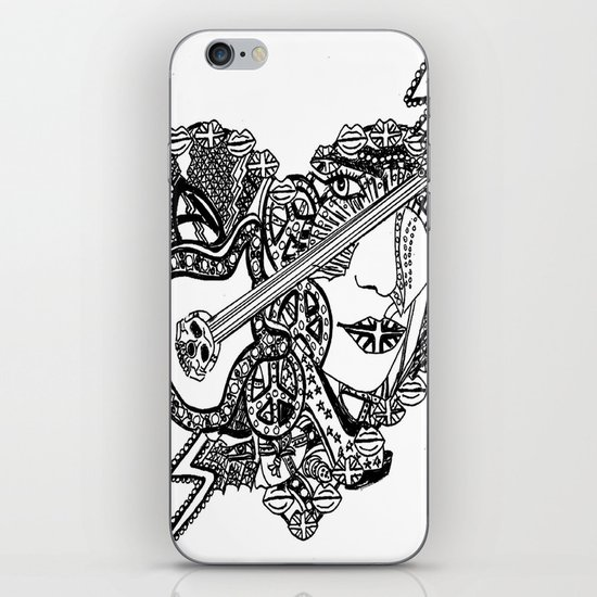 Rocking Out iPhone & iPod Skin