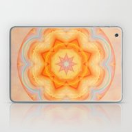 Mandala Energy Boost Laptop & iPad Skin