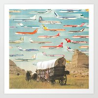 Over There Yonder Art Print