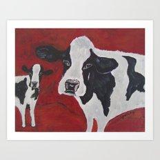 Cowabunga Art Print