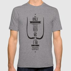 Dalínianismo Mens Fitted Tee Athletic Grey SMALL