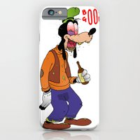 iPhone & iPod Case featuring Booze Goofy by  Grotesquer