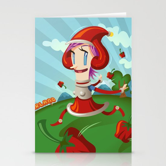 PepperLand Stationery Card