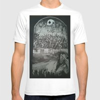 Forced Rejection Mens Fitted Tee White SMALL
