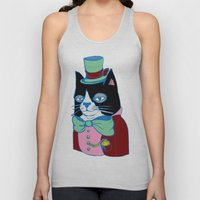 Dignified Cat Does Pastels Unisex Tank Top