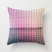 GEO/METRIC Throw Pillow