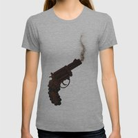 Death By Chocolate Womens Fitted Tee Athletic Grey SMALL