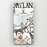 Portland, Oregon iPhone & iPod Skin
