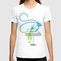 The Egotists (King Of Sa… Womens Fitted Tee White SMALL