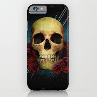 Skull And Roses iPhone 6 Slim Case