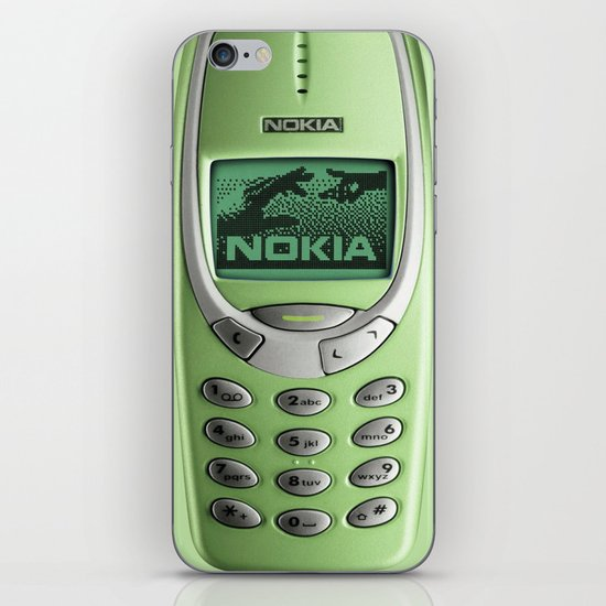 OLD NOKIA Green Lime iPhone & iPod Skin