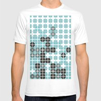 White Crosses Mens Fitted Tee White SMALL