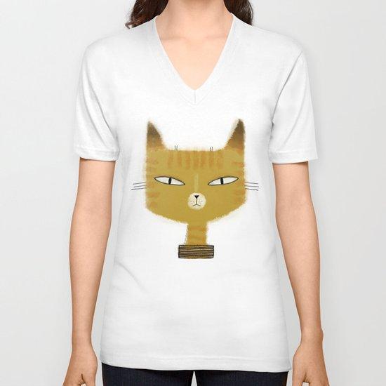 SINISTER KITTY V-neck T-shirt