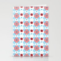 Dots Bubbles  Stationery Cards