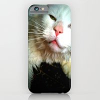 crazy kitty iPhone 6 Slim Case