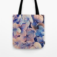 Tote Bag featuring Blue Dreams by Msimioni
