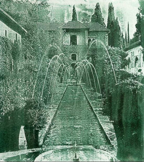 Generalife. The Alhambra Art Print