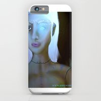 robot iPhone & iPod Cases featuring Robot by Amy Bannister