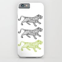 iPhone & iPod Case featuring Three Tigers by YAP9