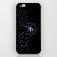 Neon Bat iPhone & iPod Skin