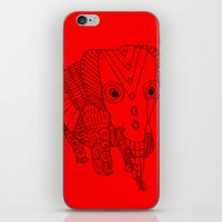 Elephant of the Day iPhone & iPod Skin