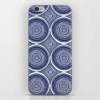 Paisley Blues iPhone & iPod Skin