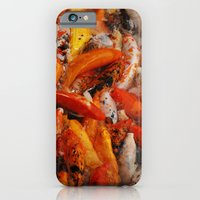iPhone & iPod Case featuring KOI by RAIKO IVAN雷虎