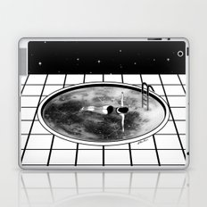 Pool Moon Laptop & iPad Skin