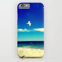 iPhone & iPod Case featuring Lonesome Seagul by Sara Miller