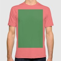 Middle Green Mens Fitted Tee Pomegranate SMALL