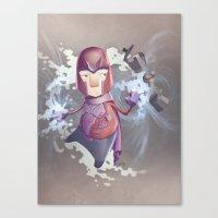 Magneto Kaffee Time Canvas Print