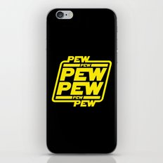Pew Pew Pew iPhone & iPod Skin