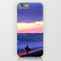 Sunset Skimboarder iPhone 6 Slim Case