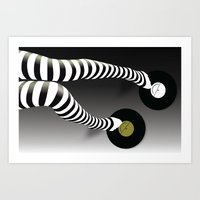 Minimal Music Minimal Fashion Art Print