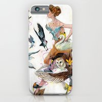 iPhone & iPod Case featuring Lady of Spring by Oliver Dominguez
