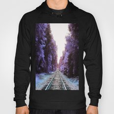 Train Tracks : Violet Blue Dreams Hoody