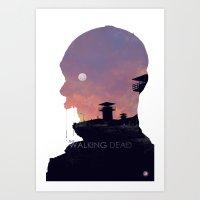 The Walking Dead - Season 3 Art Print