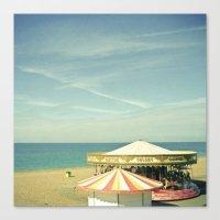 Fair by the Sea Canvas Print