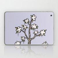 White Flower Tree Laptop & iPad Skin