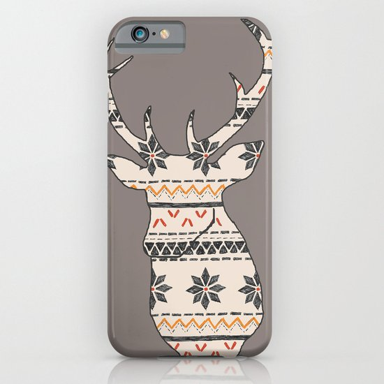 Fairisle Deer iPhone & iPod Case
