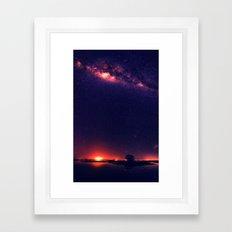 Milky Way VIII Framed Art Print