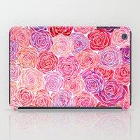 Watercolour Roses iPad Case