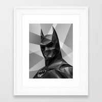 Bat man Framed Art Print
